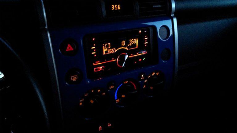 New Car Stereo for the FJ Cruiser